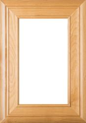 """Arden"" Superior Alder Glass Panel Cabinet Door in Clear Finish"
