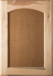 Unfinished Eyebrow FLAT MDF Panel Maple Cabinet Door