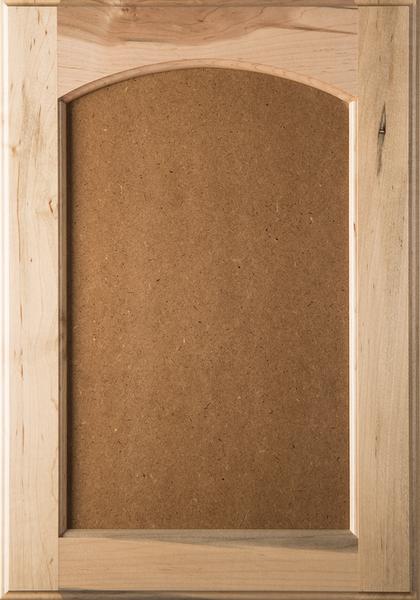 Eyebrow Arch Flat Mdf Panel Cabinet Door