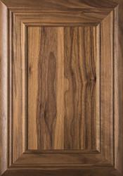 """""""Arden"""" Walnut FLAT Panel Cabinet Door"""