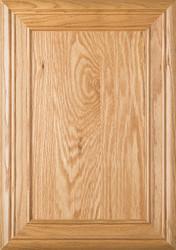 """""""Arden"""" 2.38 Red Oak FLAT Panel Cabinet Door"""