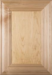 """Belmont"" Maple Flat Panel Cabinet Door (Stain Quality)"