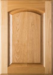 Eyebrow Raised Panel Superior Alder Cabinet Door (Clear Finish)