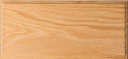 Unfinished Solid Red Oak Drawer Front