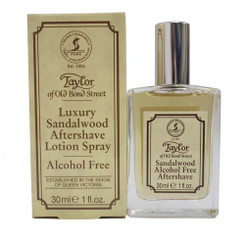 Taylor of Old Bond Street Luxury Sandalwood Aftershave Lotion Spray 30ml
