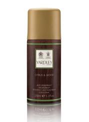 Yardley of London Citrus & Wood Deodorant