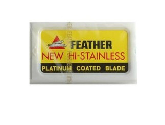 Feather Double Edge Razor Blades 10 Blade ct.