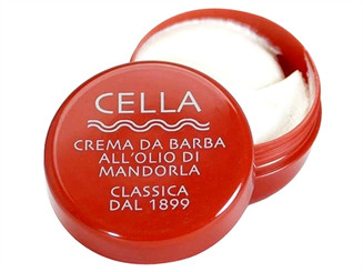 Cella Almond Shaving Cream in Travel Tub, 150g