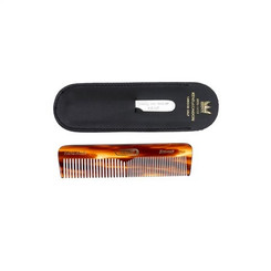 Kent Handmade Comb with Leather Case and File