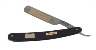 Dovo Straight Razor Ebony Wood Handle