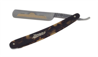 Dovo Straight Razor Faux Tortoise Handle