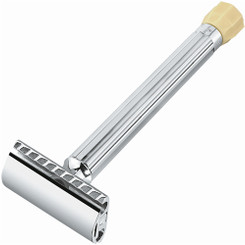 Merkur Progress Adjustable Chrome Safety Razor Long