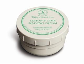 Taylor of Old Bond Street Lemon & Lime Shaving Cream 150g
