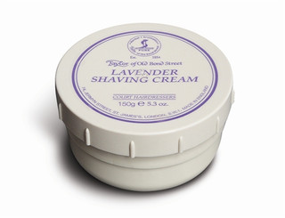 Taylor of Old Bond Street Lavender Shaving Cream 150g