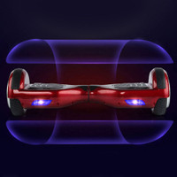 Smart Self Balancing Two Wheel Electric Scooter - Red