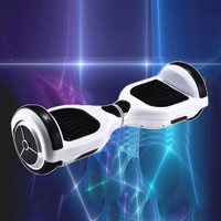 Smart Self Balancing Two Wheels Electric Scooter - White