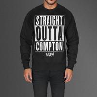 Limited Edition Straight Outta Compton N.W.A Black Sweatshirt