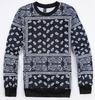 Unisex Paisley Bandanna Hip Hop Sweatshirt