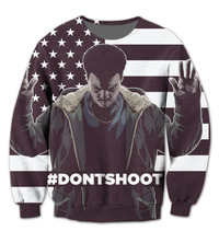 BrytCouture Limited Edition DON'T SHOOT Crew Neck Unisex Sweatshirt