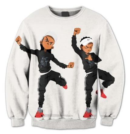 BrytCouture Limited Edition Riley Hit Dem Folk Unisex Sweatshirt