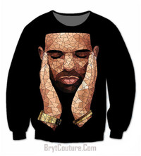 BrytCouture Limited Edition Drake OVO Sweatshirt - Unisex