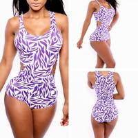 Floral High Waist Bikini Swimwear