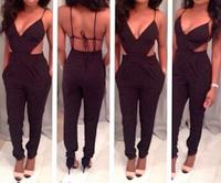 Backless String Rompers Suit OM105