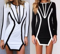 Sofia Style Mini Long Sleeves Dress