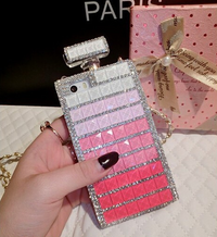 Luxury Crystal Bling Perfume Bottle Diamond iPhone Case