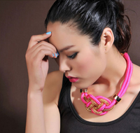 Color Candy Gold Plated Necklace