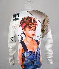"Rihanna ""Love Me"" 3D Pullover Sweater - Unisex"