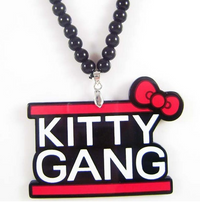 Kitty Gang Hip-Hop Fashion Necklace