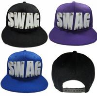 Hip-Hop Swag Snap-Back Hat - 4 Colors
