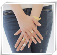 Fashion Finger Rings 3Pcs Gift Set