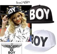 "Rihanna Style Unisex ""BOY"" Snapbacks Hats"