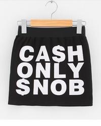 CASH ONLY SNOB Women's Skirt