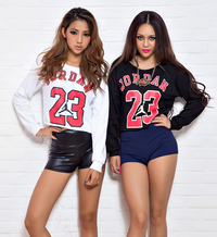 """JORDAN 23"" Women  Raglan Crop Top"