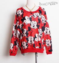 Mickey Minnie Pullover SweatShirt