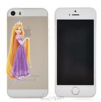 Transparent  Fairy Tale Rapunzel Princess iPhone Cover