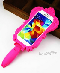 Silicon Barbie Mirror iPhone and Samsung Case