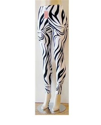 Comfy Fit Print Design Stretch Leggings