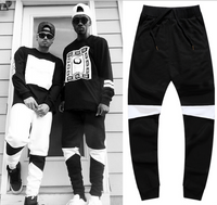 BrytCouture Drop Crotch Panelled Hip Hop Men Pants