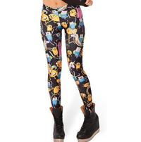 Adventure Time Montage Leggings