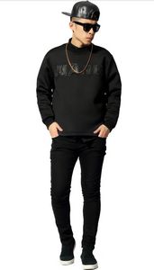 Limited Edition 3D WANG Embroidery Long Sleeves Unisex Sweatshirt