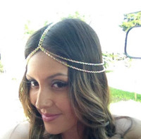 Tassel Gold Metal Hairpin