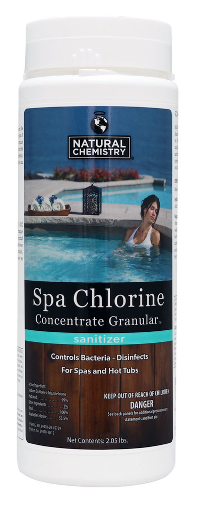 Natural Chemistry® Spa Chlorine Concentrate - 2.05 lb  -  04211
