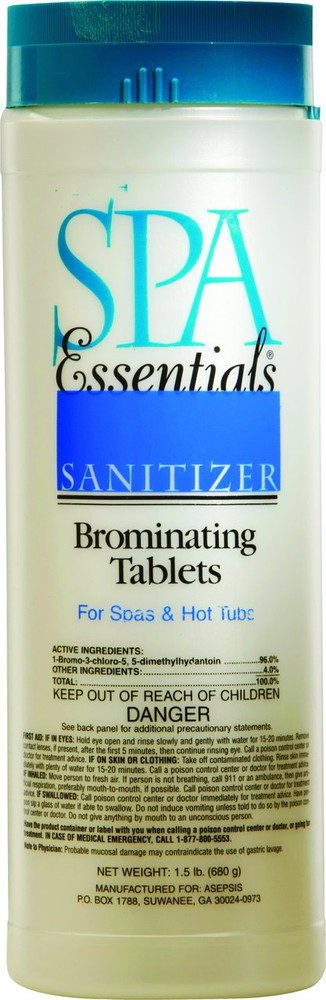 Spa Essentials Brominating Tablets - 1.5 lb - 32305