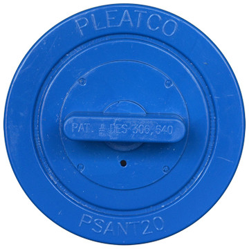 Pleatco PSANT20P3 - Replacement Cartridge - Futura Spa (Strong Industries) - 20 sq ft , top