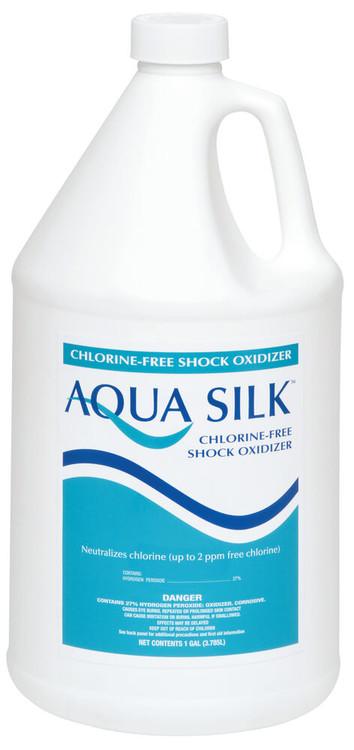 Aqua Silk® Chlorine-Free Shock Oxidizer - 4x1 gal