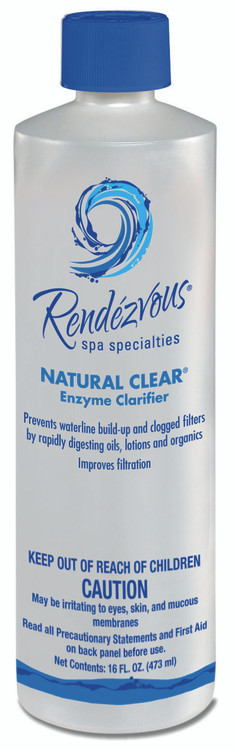 Rendézvous® Spa Specialties Natural Clear® - 1 pt